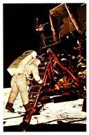 Astronaut Ed Aldrin Jr Desends Steps Apollo 11 - Space