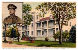 Arkansas  Little Rock ,  Gen. Douglas MacArthur , Old Arsenal Bldg. Birthplace - Little Rock