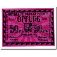 Billet, Allemagne, Oppurg, 50 Pfennig, Paysage, 1921, 1921-08-01, SPL - Germany