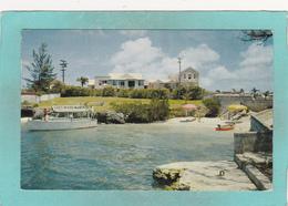 Old Postcard Of Sherwood Manor Hotel,Pembroke,Bermuda Posed With Stamp,S52. - Bermuda