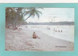 Old Postcard Of Mayaro Bay,Trinidad,Posed With Stamp,S52. - Trinidad