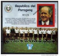Paraguay  1978 World Cup Football MICHEL No.BL313 - Fußball-Weltmeisterschaft