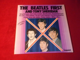 THE  BEATLES  °  FIRTS AND YONY SHERIDAN   12 TITRES ENREGISTREMENTS ORIGINAUX - Vinyl Records
