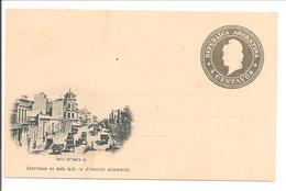 Tarjeta Postal 4c. Calle De Santa Fe - Postal Stationery