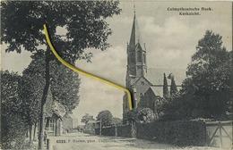 KALMTHOUT :CALMPTHOUTSCHE HOEK  :  Kerkzicht ( Hoelen Capellen 6326 : Geschreven 1913 Met Zegel ) - Kalmthout