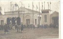 ASIE - VIETNAM - HANOI - Exposition 1902 - Entrée Du Théâtre - Carte Photo - Belle Animation - Viêt-Nam