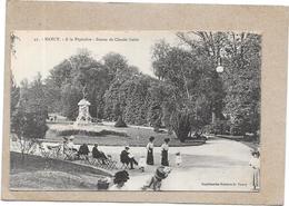 NANCY - 54 -  A La Pépinière - Statue De Claude Gelée  - ROUI ** - - Nancy