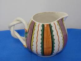 Petit Pichet Multicolore, En Céramique Italienne - Art Populaire