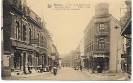 """TAMINES : """"Rue De La Station Avant L'occupation Boche"""" - 1925 - Sambreville"""