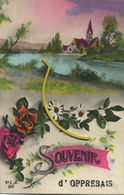 Opprebais :  Souvenir  (  Ecrit 1932 Avec Timbre )  Incourt - Incourt