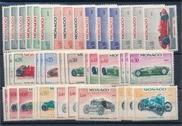 CC-161:MONACO: Lot Avec Séries Neuves** N°708/721(3 Séries)  Lot 2 - Monaco