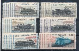 CC-162:MONACO: Lot Avec Séries Neuves** N°752/757 (6 Séries) - Monaco