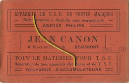 Beaumont : Jean Canon  ( See Card Reclame For Detail )  Agence Philips - Beaumont