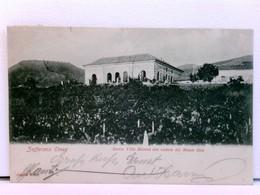 Seltene AK Zafferana Etnea - Sarro, Villa Bicocca Con Veduta Del Monte Ilice; 1913 - Italien