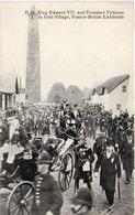 H.M. King Edward VII And Président Fallières In Irish Village, Franco-British Exhibition   (108464) - Familles Royales
