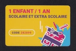 Carte Cadeau.  Gift Card.  Assurance Scolaire. - Gift Cards