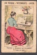 Agen (47 Lot Et Garonne)  Image Offerte Par AU PHENIX CAUBET ET CAILLAVET (tailleurs) (PPP14369) - Old Paper