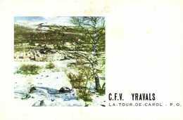 C.F.V. YRAVALS  LE TOUR DE CAROL  P.O. RV - France