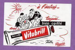 Buvard Vitabrill A L Arrivée Toujours Bien Coiffé Production Vitapointe - Perfume & Beauty