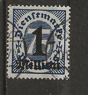 Timbres Surchargés De 1923. - Service