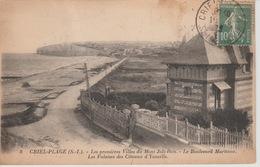 18 / 8 /  82. -  CRIEL  SUR  MER  ( 76 ) -LES PREMIÈRES VILLAS  DU. MONT  JOLI - BOIS - Criel Sur Mer