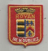 écusson Tissus , ROYAN - Patches