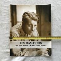 JEAN GABIN PHOTO SEPIA LES BAS-FONDS DE JEAN  RENOIR-1er PRIX LOUIS DELLUC + DOSSIER SUR FILM - Photographs