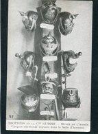 CPA - Trophées De La Grande Guerre - Casques Allemands Exposés Dans La Salle D'honneur Du Musée De L'Armée - War 1914-18
