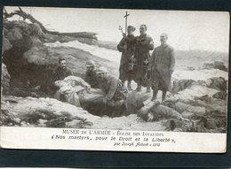CPA - Illustration Joseph Aubert, 1916 - Nos Martyrs, Pour Le Droit Et La Liberté - Guerre 1914-18