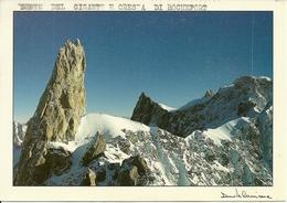 Dente Del Gigante E Cresta Di Rochefort (Valle D'Aosta) Dent Du Geant Et Crete Du Rochefort, Fotografo Davide Camisasca - Italia