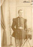 86Cps  Photo Cartonnée Militaire Soldat à Identifier En 1906 - Uniformen