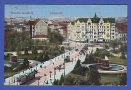 AK Dresden-Neustadt Albertplatz, 1913 - Lithuania