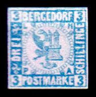 Germania-F400 - Bergedorf 1861-67 (sg) NG - Senza Difetti Occulti. - Bergedorf