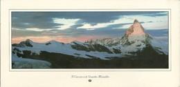 Alba Sulla Parete Est Del Cervino (Valle D'Aosta) L'Aube Sur La Paroi Est Du Cervin, Fotografo Davide Camisasca - Aosta