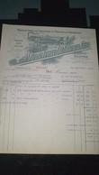 Courrier - FACTURE - Manufactures De Chaussons Et Pantoufles Vaporisés A. PORTOLEAU R ROY ET CIE - 1900 – 1949