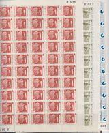 Faroe Islands 1976 Independent Post 3v Sheetlets (unfolded) ** Mnh (F7314) - Faeroër