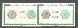 E 99/100 Eeuwfeest Van De Eerste Telegraafzegel POSTFRIS**  1966 - Commemorative Labels