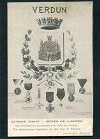 CPA - GUERRE 1914-17 - Musée De L'Armée - Les Décorations Décernées à La Ville De Verdun - War 1914-18