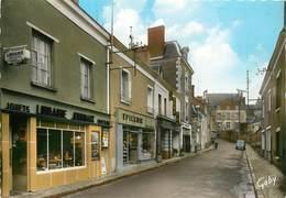 CPSM Sainte Maure De Touraine-Rue Du Docteur Patrie Et Le Restaurant Du Veau D'Or                             L2655 - Sonstige Gemeinden