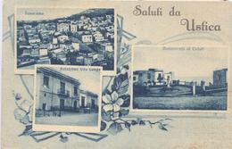 Ustica Palermo Saluti Vedutine Gruss - Palermo