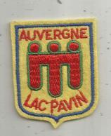écusson Tissus , LAC PAVIN , AUVERGNE - Patches
