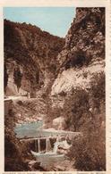 Serres  ; Route Monclus ,    Torrent De Bléme - France