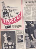 (pagine-pages)PUBBLICITA' STOCK 84  Epoca1953/151r. - Books, Magazines, Comics