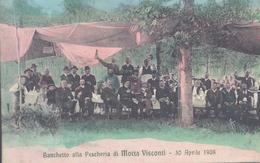 Motta Visconti Milano Banchetto Alla Pescheria RIFILATA - Pavia