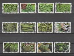 """FRANCE / 2012 / Y&T N° AA 739/750 : """"Légumes"""" (Série Complète 12 TP) - Choisis - Tous Cachet Ronds - KlebeBriefmarken"""