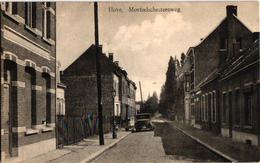 1 Postkaart  Hove  Mortselsesteenweg  Mortelschesteenweg   1933 - Hove