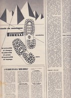 (pagine-pages)PUBBLICITA' PIRELLI  Epoca1953/153r. - Books, Magazines, Comics