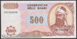 TWN - AZERBAIJAN 19b - 500 Manat 1999 Prefix CB AU/UNC - Azerbaïdjan