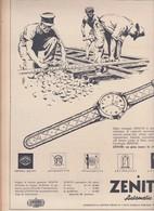 (pagine-pages)PUBBLICITA' ZENITH  Epoca1953/156r. - Books, Magazines, Comics