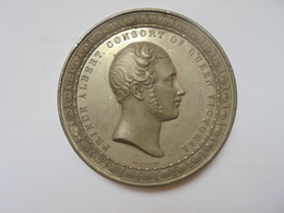 LONDON EXHIBITION 1851 PRINCE ALBERT CONSORT OF QUEEN VICTORIA  (110 GRAMMES-70 Mm) - Royal/Of Nobility